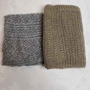 Infinity scarves - set of 2 super soft